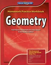 By McGraw-Hill Education Geometry, Homework Practice Workbook (1st Edition)