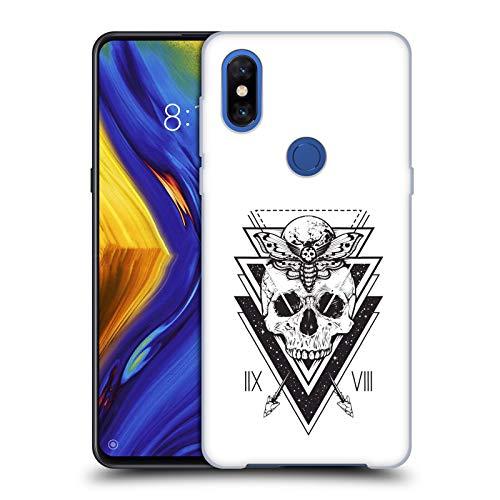 Head Case Designs Oficial Haroulita Cráneo de búho Magick - Tarot - Místico Carcasa rígida Compatible con Xiaomi Mi Mix 3
