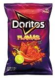 Doritos Tortilla Chips, Flamas, 2.125 Ounce (Pack of 28)