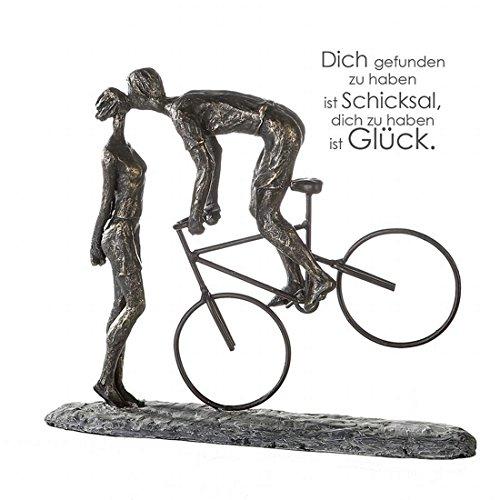 Casablanca - Objekt, Dekoobjekt, Figur, Skulptur - Kiss Me - Poly - Höhe: 36 cm