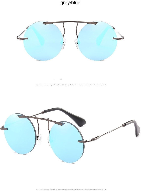 ZHANGYUSEN Classic Steampunk Round Sunglasses damen Men Retro Retro Retro Vintage Luxury Metal Fframe Eyewear B07F5RSZ3Z  eine breite Palette von Produkten c8faca