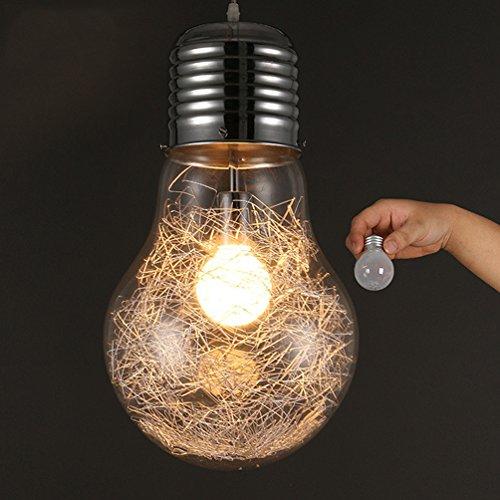 KJLARS LED Super Big lampadina Luci Pendenti Moderna Minimalismo lampada a sospensione (15cm)