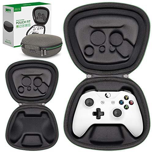 Sisma Aufbewahrung Tasche für Offizielle Xbox One X oder One S Wireless Controller, Original Xbox One Gamepad Tragetasche Hardcase Stoßdämpfender Schutz Hülle, Sonderausgabe