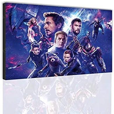 Superhero Avengers cheap Movie Canvas Poster 25% OFF Series Home Modern Living