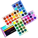 60 Colors Eyeshadow Palette, 4 in 1 Makeup Palette Set, High Pigmented Makeup, Palette Matte And Shimmer Colors Eyeshadow Palette,which are waterproof and sweat-proof Eyeshadow Palette