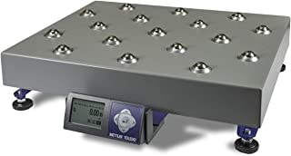 Mettler Toledo Bench Scale BC-60U BC series Shipping UPS Bench Scale with Ball Top,NTEP Legal For Trade,RS232, 150 lb x 0.05 lb,New Replacement from Mettler for PS60