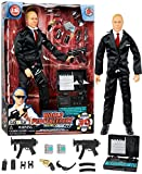 Click N' Play Secret Service with Suit 12' Inch Action Figure Play Set with Accessories.