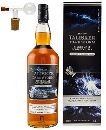 Talisker Dark Storm 1 Liter Single Malt Whisky + Glaskugelportionierer