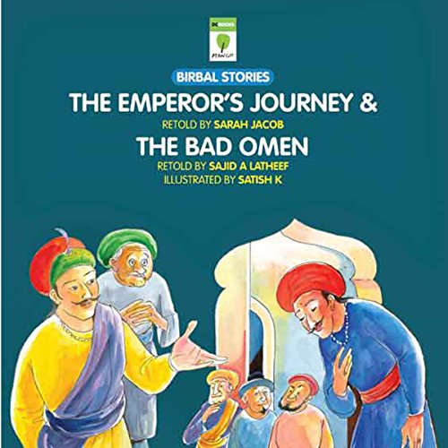 The Emperor's Journey and the Bad Omen audiobook cover art