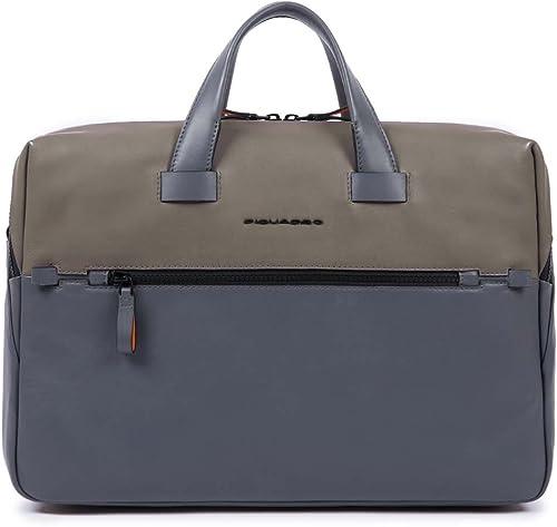 autentico en linea Piquadro Line Bolsa Escolar, 42 cm, gris gris gris (gris)  popular