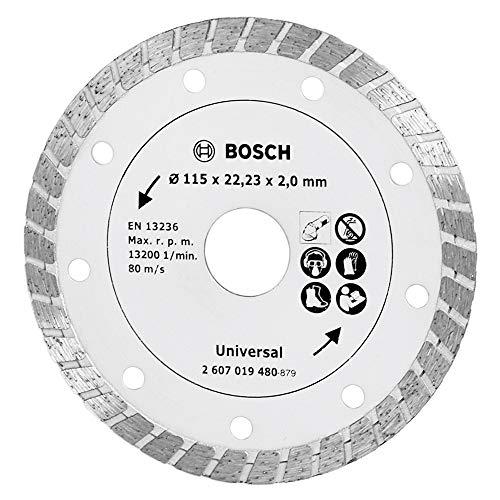 Bosch Diamanttrennscheibe Turbo, 115 mm, 2607019480
