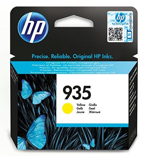 HP 935 Gelb Original Druckerpatrone für HP Officejet Pro 6830, HP Officejet Pro 6230