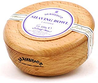 D R Harris Lavender Shaving Soap in Beech Wood Bowl (100g)