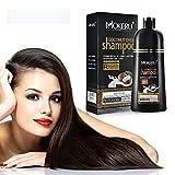 Permanent Hair Color Shampoo Natural Coconut Oil Hair...