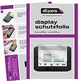 dipos I 3X Schutzfolie klar kompatibel mit Garmin zumo 396 LMT Folie Bildschirmschutzfolie