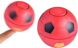 Jopini おもちゃ,1 pc 2018年のおかしいフィンガーのおもちゃ フットボールサッカーゲームおもちゃ edcアンチストレスおもちゃの焦点 ジャイロ, 5.3x5.3cm