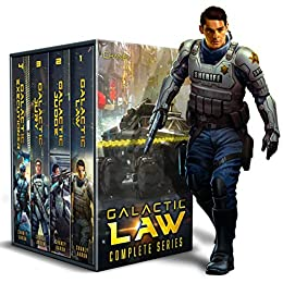 4-in-1 Sci-Fi Thriller BOXED SET ALERT!  <em>Galactic Law Box Set: The Complete Series</em> by J.N. Chaney and James S. Aaron