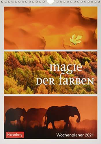 Magie der Farben Kalender 2021: Wochenplaner