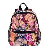 Mochila para niños resistente para regresar a la escuela, mochila para niños y niñas, puesta de...