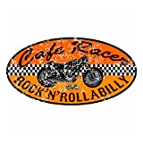 Retro Vintage Aufkleber -Finest Folia Sticker Old School Ace Kult Rockabilly (#2 Cafe Racer)