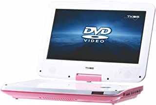 TKDS LED Porttable DVD Player 10900D for Kids, 270 Degree Swivel 25.6cm (10.1 Inch) Wide Screen,6 Hours Play