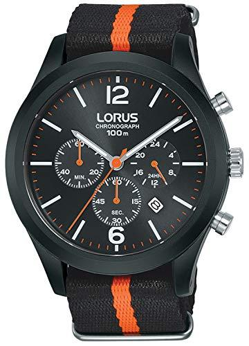 Lorus Sport Man Reloj para Hombre Analógico de Cuarzo con Brazalete de Nylon RT347HX9