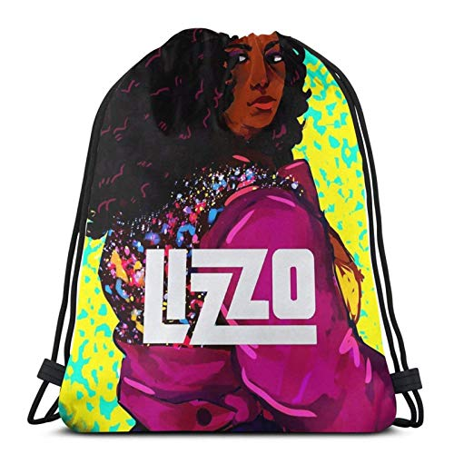 Sulisa L-Izzo American Tour 2020 Sport Bag Gym Sack Drawstring Backpack for Gym Shopping
