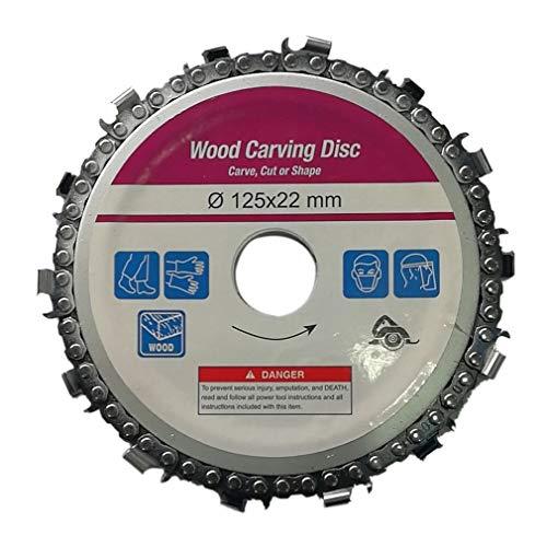 Houtbewerking Chain Plate Angle Slijpen Chain Wheel Houtsnijwerk Disc for haakse slijper