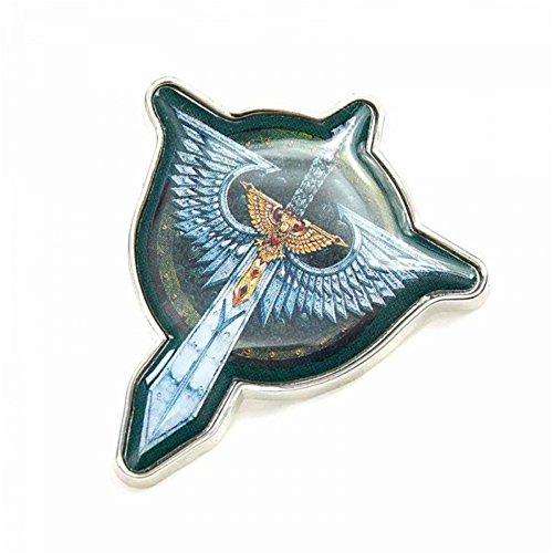 Pritties Accessories Echte Warhammer Dark Angels Chapter Badge Pin Badge Games Workshop