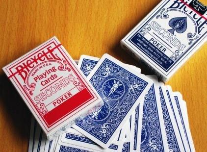 Carte da poker Bicycle - Seconds