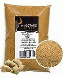 Minotaur Spices   Jengibre molido, Jengibre en Polvo Jengibre Suave  2 X 500g (1 Kg)
