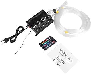 Focket Lichte RGBW-motor, motorlampenset, plafondlamp van kunststof, 16 W, LED, met afstandsbediening, kabel voor huisdeco...