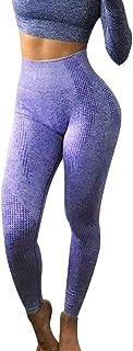 VPASS Mujer Pantalones,Mallas Mujer Fitness Elásticos