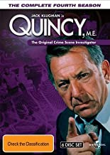Quincy M.E. (Complete Season 4) - 6-DVD Box Set