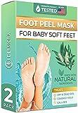 Foot Peel Mask - For Cracked Heels, Dead Skin...