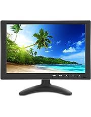 10インチ液晶 HDMI USB モニター PC サブ ディスプレイ IPS全視野高画質 HDMI USB VGA BNC AV 入力対応 小型 ディスプレイ モバイル モニター