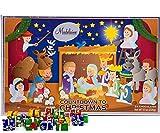 Madelaine Chocolate Christmas Pageant Christmas Countdown Advent Calendar with 24 Premium Milk Chocolates (8oz - 226g)