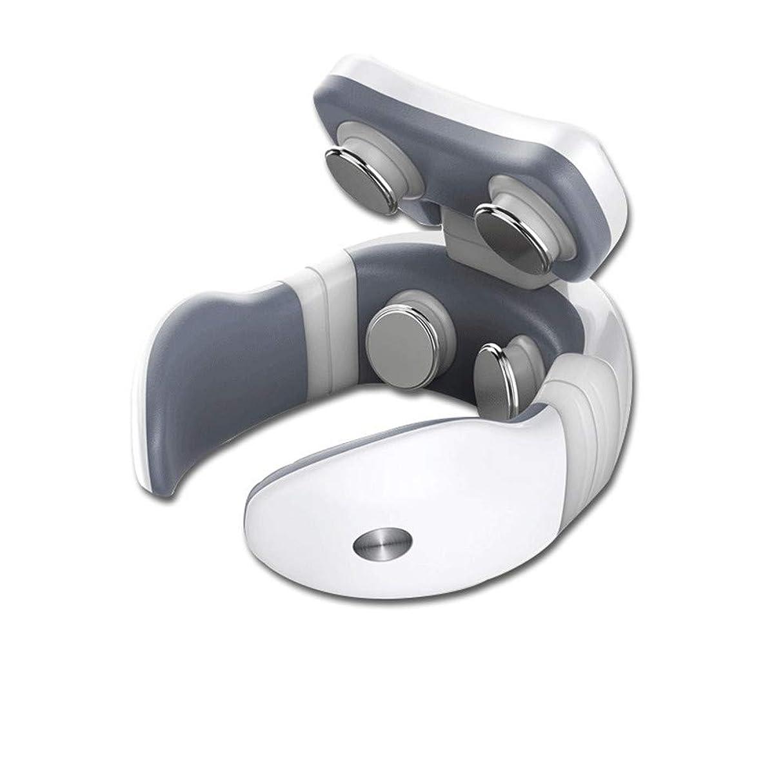 乱すプラスチックヒントネックマッサージャー マッサージ器 首 四頭マッサージ器械多機能家庭用&職場用&車用 不眠症改善 CAIYE