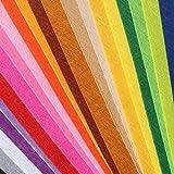 Acryl-Filzblätter, weicher Filzstoff, verschiedene Farben,
