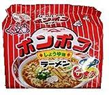 山本製粉 ポンポコラーメン醤油 6食パック×6個
