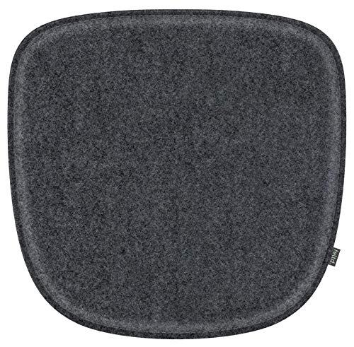 Feltd. Eco Filz Kissen geeignet für Armchair DAW,DAR,DAX,RAR,DAL - 30 Farben - optional mit Antirutsch und gepolstert! (anthrazitmeliert)
