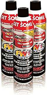 FW1 Wash & Wax Waterless Polish with Carnauba 17.50oz (3-Pack)