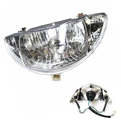 SCHEINWERFER LAMPE/HAUPTSCHEINWERFER z.B. passend für REX RS 400 / RS 460 / AGM GMX / BOSTON8 / RALLOX und baugleiche. SHENKE JONWAY JINAN QINGQI CHINA ROLLER