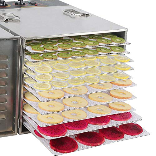 Kispog Silicone Dehydrator Sheets for Food Dehydrator Machine