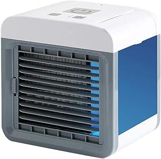 Ventilador pequeño para el hogar, pequeño ventilador de escritorio, mini refrigerador de aire acondicionado Watopi