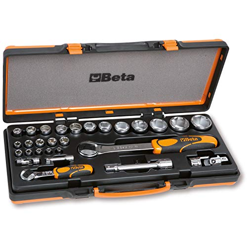 Beta 902A/C22 Set mit 22 Sechskantschlüsseln und 6 Zubehörteilen in Blechkassette