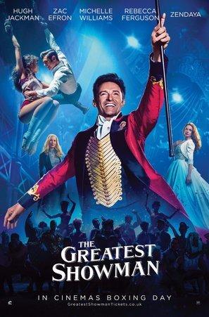 "Poster da parete ""The Greatest Showman"",Hugh Jackman, film americano, 30 x 43cm (lingua inglese)"