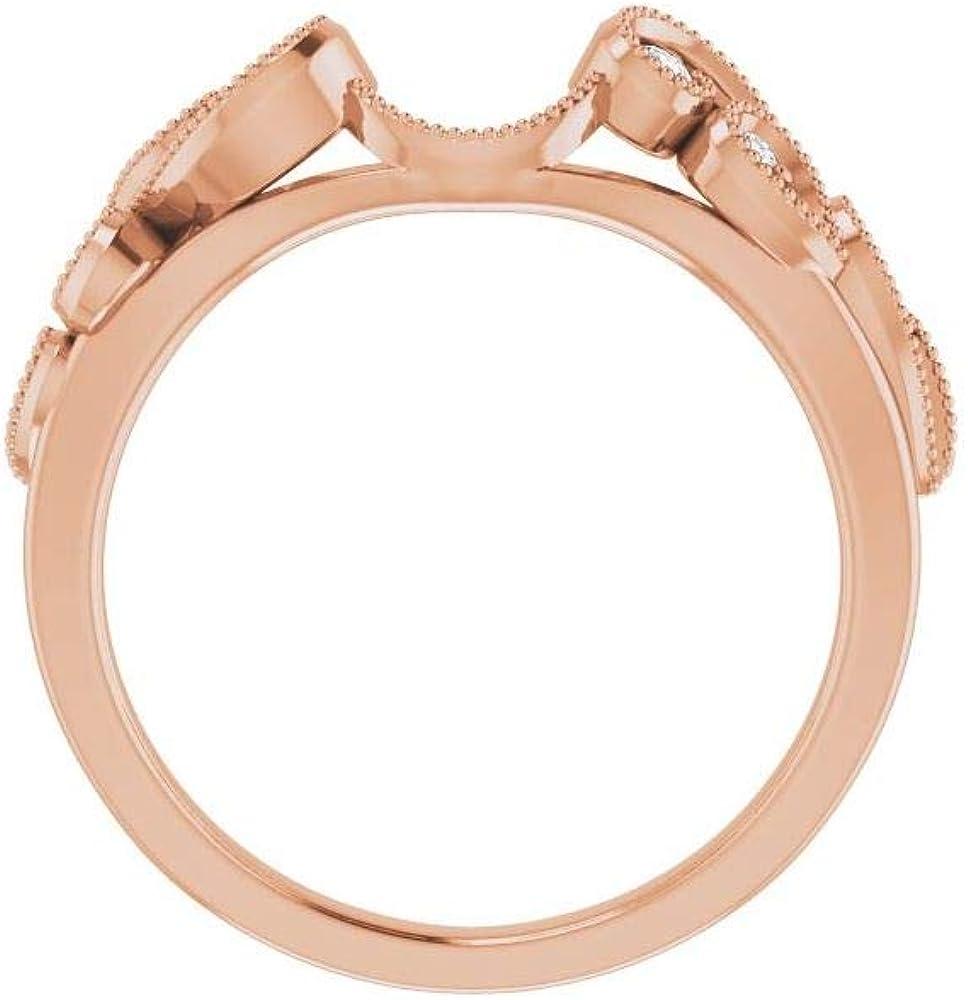 1/8 Cttw Diamond Ring Band Enhancer (.13 Cttw) (Width = 1.6mm)
