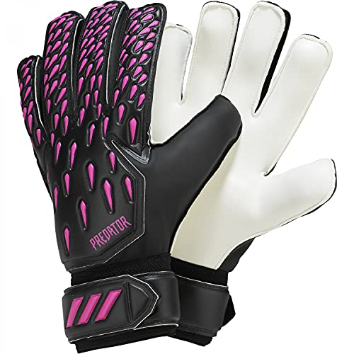 adidas Herren Predator 20 Training Torwarthandschuhe, Black/Shock Pink, 6