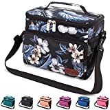 Leakproof Reusable Insulated Cooler Lunch Bag - Office Work Picnic Hiking Beach Lunch Box Organizer with...
